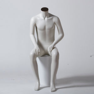 Headless Male Mannequin, Sitting Mannequin for Boutique pictures & photos