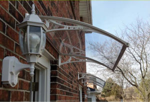 Polycarbonate DIY Awning/ Canopy / Shade/ Shelter for Windows& Doors pictures & photos