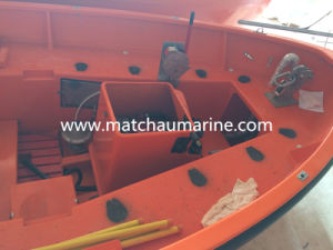 Fibreglass Open Type Solas Approved Life Boat pictures & photos