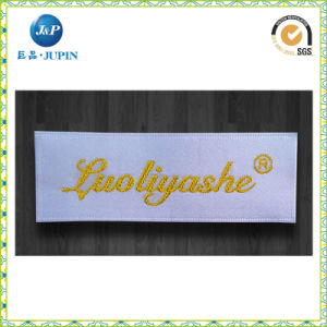Custom Garment Woven Label with Laser Cutting (JP-CL083) pictures & photos