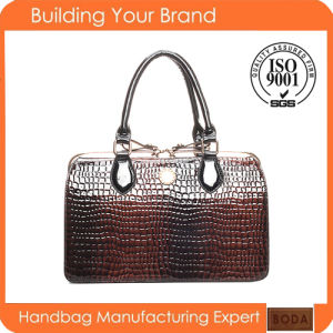2017 China Manufacturer Designer Women Faux Leather Handbags (BDM165) pictures & photos