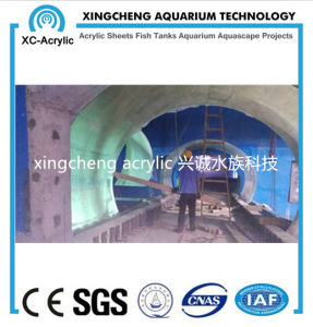 Customized Large Transparent Raw Lucite Material Cast Acrylic Tunnel pictures & photos