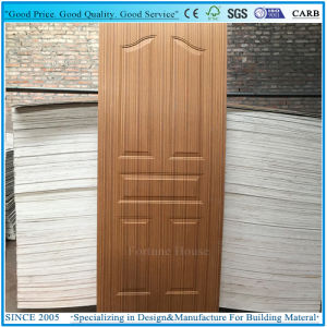 Thickness 2.7mm 3mm Moulded Door Panel Plywood with Wenge Veneer pictures & photos