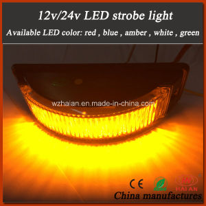 Surface Mount Curve LED Strobe Warning Light in Amber LEDs pictures & photos