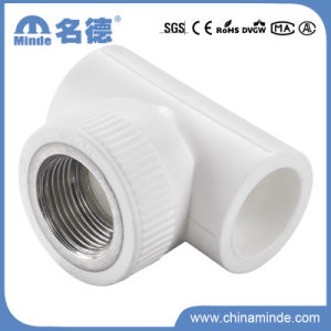 PPR Female Tee Type E Fitting for Building Materials pictures & photos