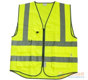 High Reflective Safety Vest with Many Pockets pictures & photos