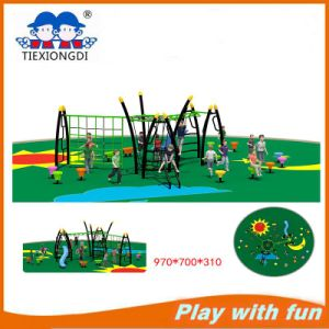 Hot Sell Kids Outdoor Playground Climbing Series with Slide pictures & photos