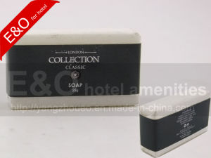 Rectangular Hotel Bath Soap 25g in Wax Paper pictures & photos