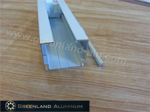 Curtain Track and Tilt-Rod for Window Blind with Powder Coating White Color pictures & photos