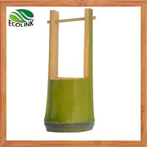 Handmade Bamboo Basket Flowerpot/ Succulent Pot pictures & photos
