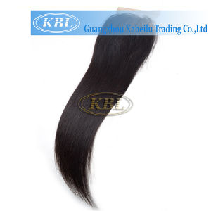 4*4 Free Part Brazilian Silk Base Closure pictures & photos