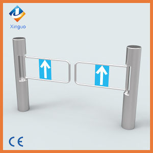 Stainless Steel Pedestrian Swing Barrier Gate with Ce pictures & photos