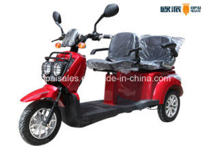 Electric Mobility Scooter Double Seats 3-Wheel E-Scooter E-Tricycle pictures & photos