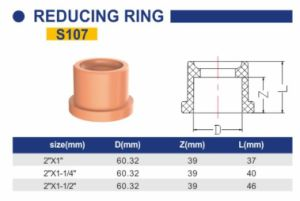 CPVC Fire Sprinkler System Industry Pipe and Fittings Reducing Ring pictures & photos