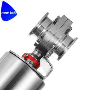 Sanitary Pneumatic Triclamp Butterfly Valves (NT-PBV) pictures & photos