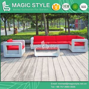 Rattan Corner Sofa Set Modern Garden Sofa Set Patio Wicker Sofa Set (Magic Style) pictures & photos