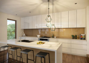 Luxury MDF Wood Lacquer Kitchen Cabinet pictures & photos