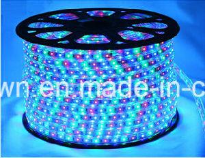High Voltage RGB Rope Light LED Strip (HVSMD5050-60) pictures & photos