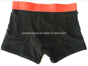 Solid New Style Fashion Men′s Boxer Short Underwear pictures & photos