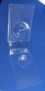 Clear PVC Clamshell Box for Floor Drain Plastic Packing Box for Floor Drain pictures & photos