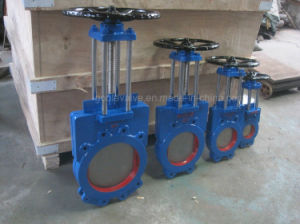 Slurry Knife Gate Valve (GAPZ73X) pictures & photos