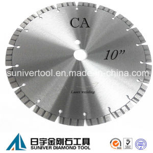 "10"" Concrete Saw Blade, Laser Welding, Cut off Saw Blade pictures & photos"