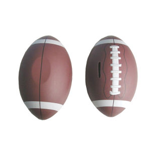 Football Shaped Tin Can for School Boy Football Shaped Tin Can pictures & photos