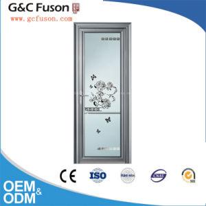 High Quality Aluminum Double Glass Casement Door Factory pictures & photos
