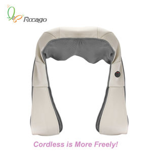 Cordless Rechargeable Kneading Shoulder Massage Shawl Body Massager pictures & photos