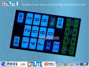 RoHS Conform Customized EL Backlit Membrane Switch Keypad pictures & photos