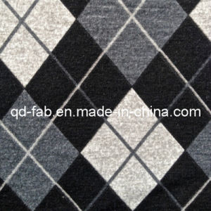 Poly/Rayon/Spandex Printed Knitting Fabric (QF13-0698) pictures & photos