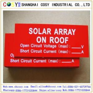 ABS Double Color Board with High Adhesive for Sign Making pictures & photos