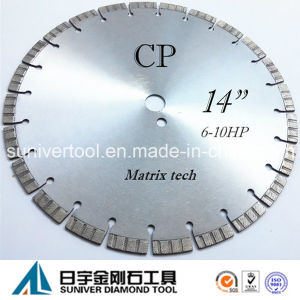 "14"" Laser Saw Blade Diamond Cutter for Concrete pictures & photos"
