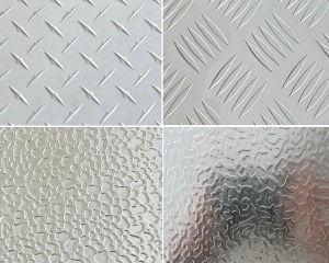 Aluminium Stucco Embossed Plate