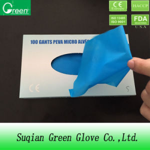 TPE Disposable Cosmetic Gloves Work pictures & photos