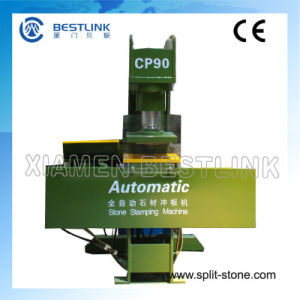 Bestlink Automatic Stone Stamping Machine pictures & photos