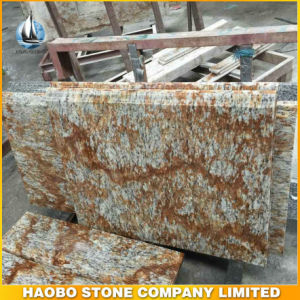 Yellow Verniz Tropical Granite Kitchen Island Countertops pictures & photos