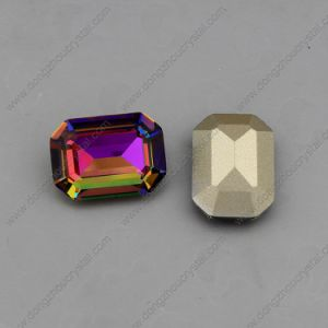 Octagon 10*14mm/13*18mm Crystal Loose Jewelry Stones (DZ-3007) pictures & photos