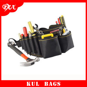(KL041) Oxford Multifunction Tool Bag Durable Waist Bags with Belt