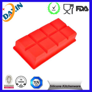 Wholesale 8 Cells Rectangle Ice Tray Silicone Ice Cube pictures & photos