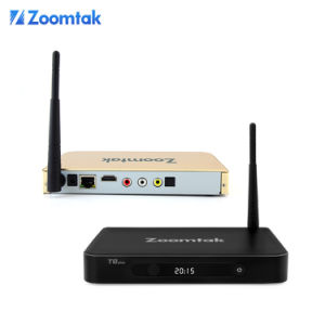 New Quad Core Android 4.4 S812 Stream Smart TV Box Zoomtak T8plus pictures & photos