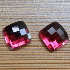 Square Flat Bottom Glass Beads for Jewelry pictures & photos