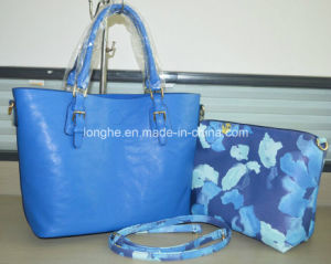 with Small Purse Printed Summer Leather Fashion Handbags (ZX184) pictures & photos