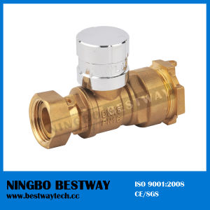 Magnetic Water Meter Lockable Ball Valve (BW-L16) pictures & photos