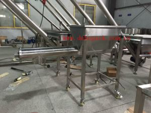 Horizontal Carbon Powder Screw Conveyor, Auger Feeder (With Hopper) pictures & photos