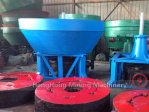 Wet Pan Grinding Mill for Gold in Sudan Gold Mine pictures & photos
