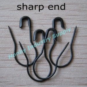 New Arrival Fashion Black Pear Shape Safety Pins pictures & photos