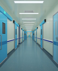 Anti Impact Hospital Hallway Vinyl Handrail for Elderly and Disable pictures & photos