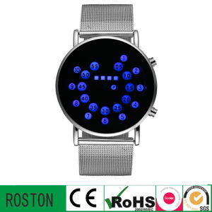 Steel Belt Wrist Watch with RoHS CE FCC
