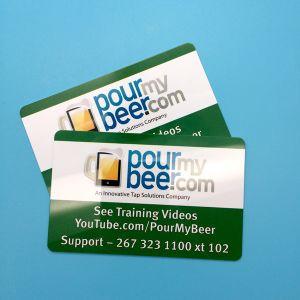 Cashless payment MIFARE DESFire EV1 8K contactless smart card pictures & photos